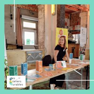 Alice Denoize, tabacologue pour Les Ateliers Durables